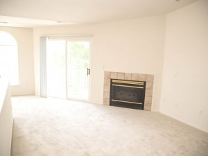 2 Bed / 2 Bath Upper with Fireplae